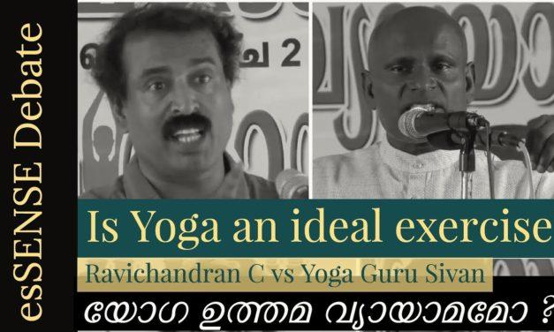 The Yoga Debate – Ravichandran C Vs Yoga Guru Shivan